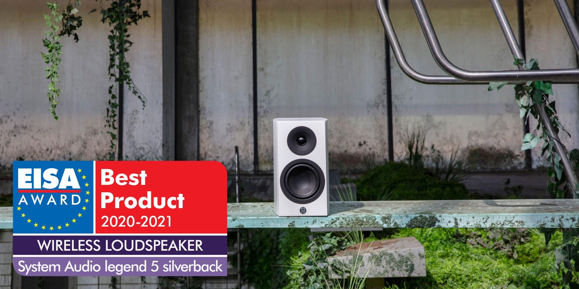 System Audio legend 5.2 wireless silverback aktiivikaiutin