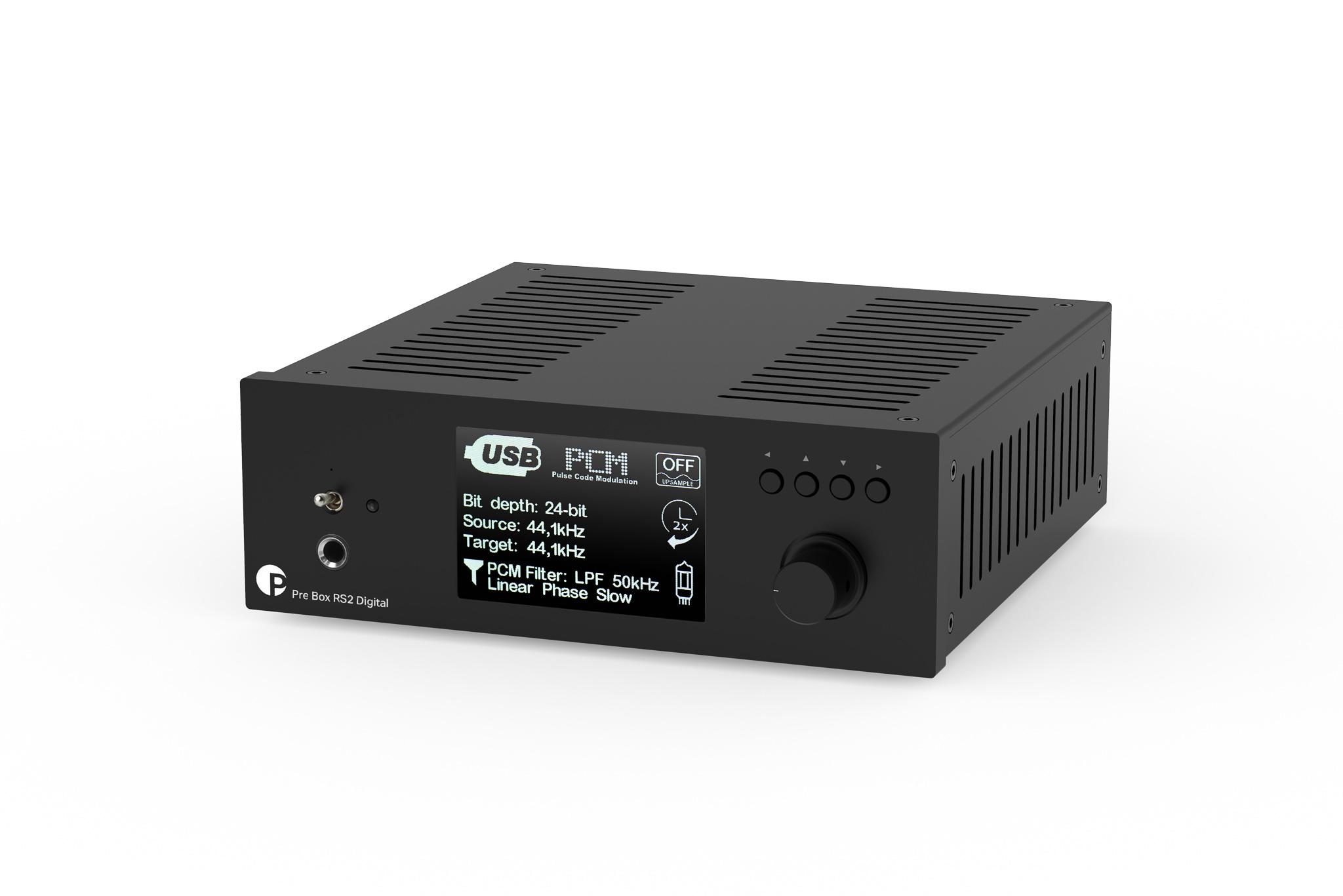 Pro-Ject Pre Box RS2 Digital etuvahvistin
