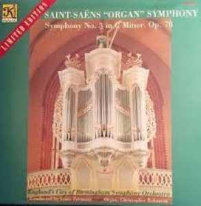 Vinyyli LP; Saint-Saëns: Organ Symphony No. 3