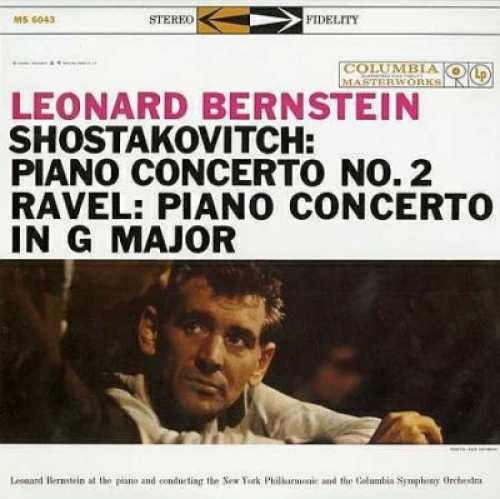 Vinyyli LP; Leonard Bernstein: Shostavich & Ravel