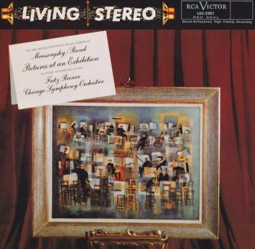 Vinyyli LP; Fritz Reiner - Moussorgsky/Ravel: Pictures At An Exhibition