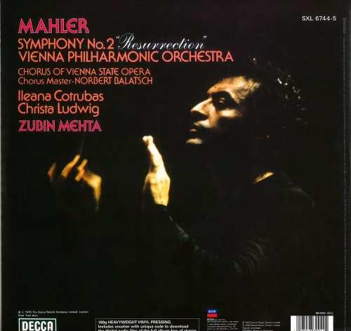 Vinyyli LP; Mahler - Symphony No.2, 2 LP
