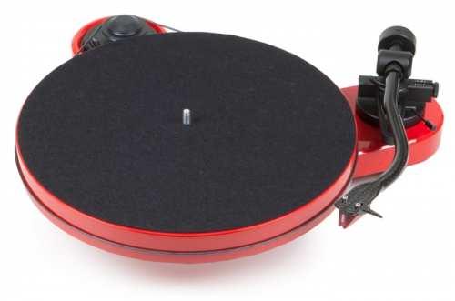 Pro-Ject RPM 1 Carbon levysoitin Ortofon 2M Red äänirasialla