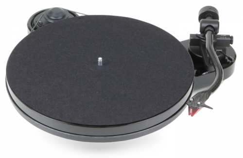 Pro-Ject RPM 1 Carbon, pianomusta