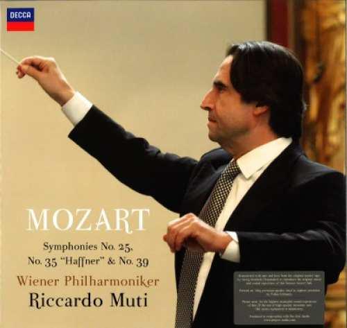Vinyyli - LP: W. A. Mozart – No. 25, 35 & 39 , tupla LP
