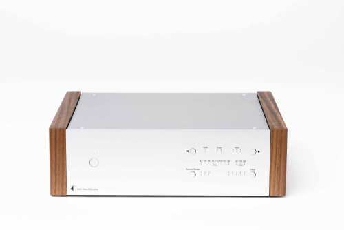 Pro-Ject Dac Box DS2 Ultra, hopea pähkinäpuukyljin