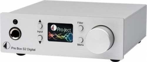 Pro-Ject Pre Box S2 Digital, hopea