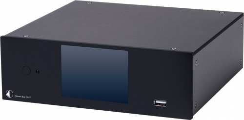 Pro-Ject Stream Box DS2 T, musta