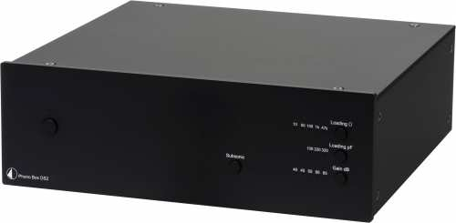 Pro-Ject Phono Box DS2, musta