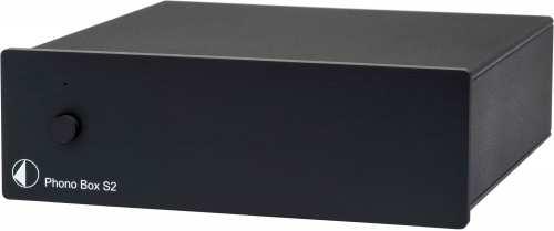 Pro-Ject Phono Box S2, musta