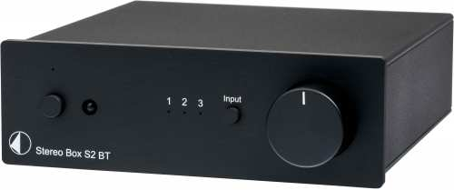 Pro-Ject Stereo Box S2 BT vahvistin, musta