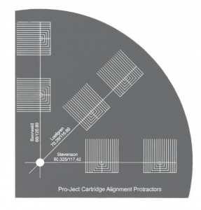 Pro-Ject Align It DS2 äänirasian kohdistuslevy