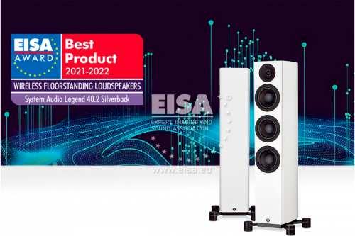 System Audio legend 40.2 wireless silverback aktiivikaiutin