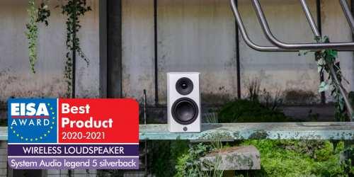 System Audio legend 5.2 silverback aktiivikaiutin
