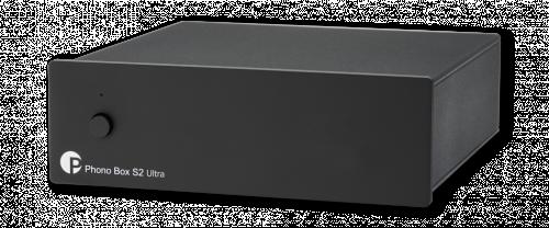 Pro-Ject Phono Box S2 Ultra, musta