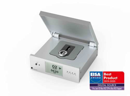 Pro-Ject CD Box RS2T, cd-pyöritin