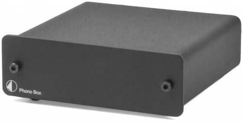 Pro-Ject Phono Box (MM/MC), musta