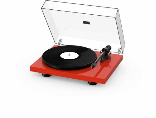 Pro-Ject Debut Carbon EVO levysoitin, pianopunainen