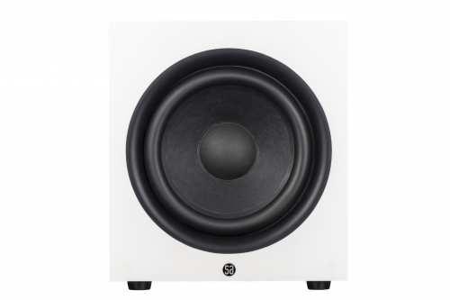 System Audio legend sub 12, valkoinen