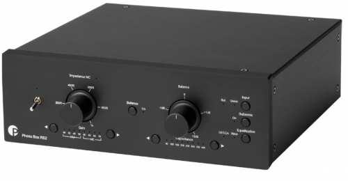 Pro-Ject Phono Box RS2, musta