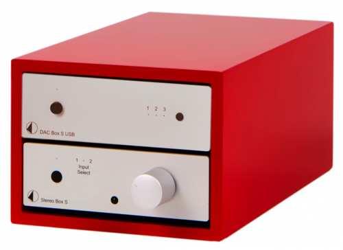 Pro-Ject Design Box 2 Acryl punainen
