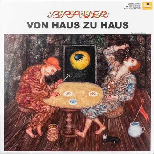 Vinyyli LP; Arik Brauer Von Haus zu Haus