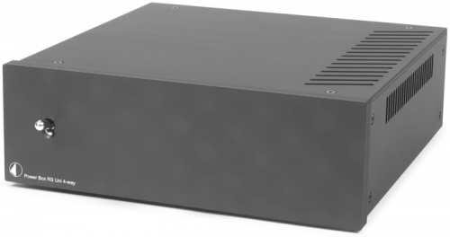 Pro-Ject Power Box RS Uni 4-Way musta