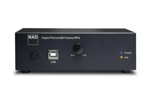 NAD PP4 RIAA levysoitin esivahvistin USB liitännällä
