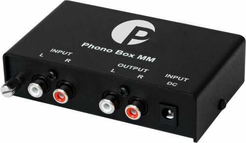 Pro-Ject Phono Box MM, RIAA levysoitin esivahvistin