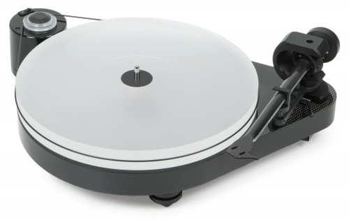 Pro-Ject RPM 5 Carbon, ilman äänirasiaa, pianomusta